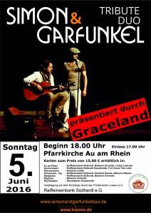 Plakat Graceland A4